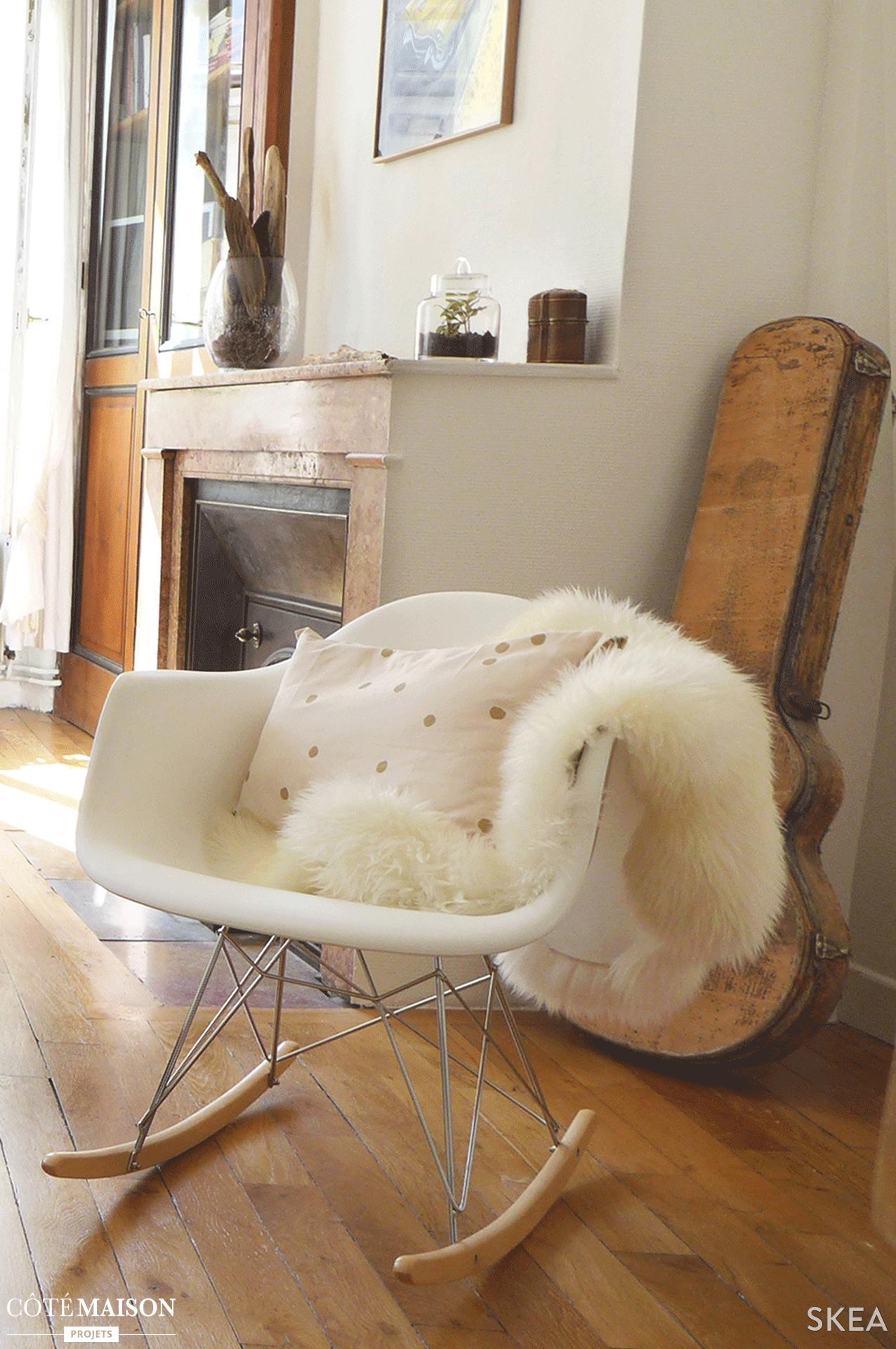 Rien De Mieux Quune Couverture Style Fourrure Pour Amener Un Esprit - Canapé convertible scandinave pour noël architecte cuisine