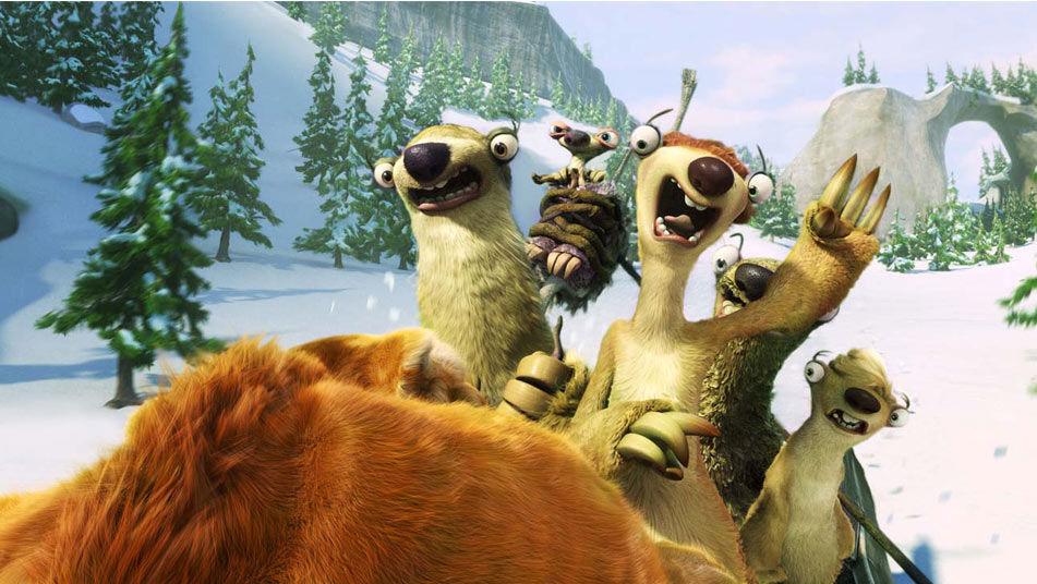 Ice Age Hahmot