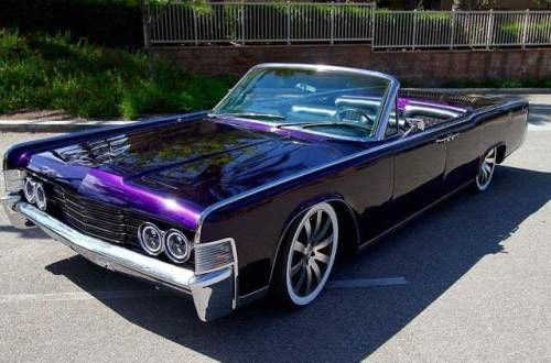 Click for more 1961 – 1969 Lincoln Continentals – Suicide Slabs