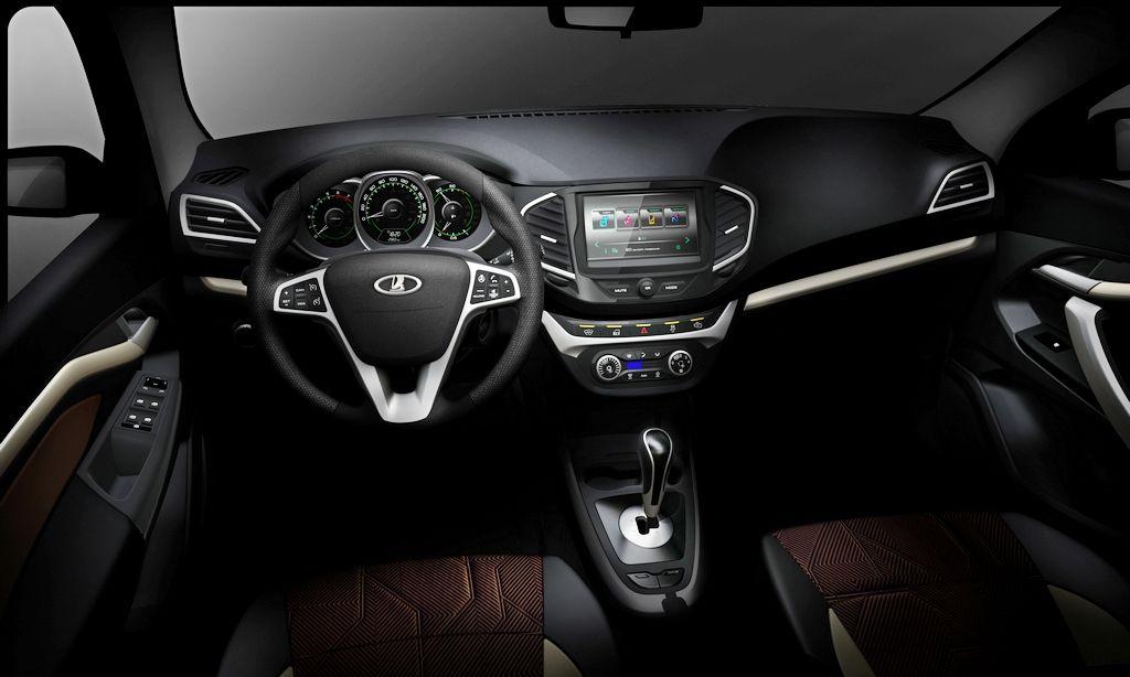 Lada Vesta Sedan S Interior Revealed Ahead Of Moscow Debut Lada