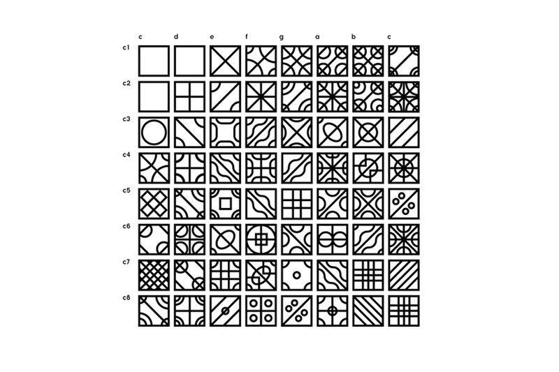 Daniel Reed explore la cymatique  / Galeries / étapes: