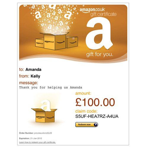 Amazon Co Uk Email Gift Voucher Amazon Gift Card Free Free Amazon Products Amazon Gifts