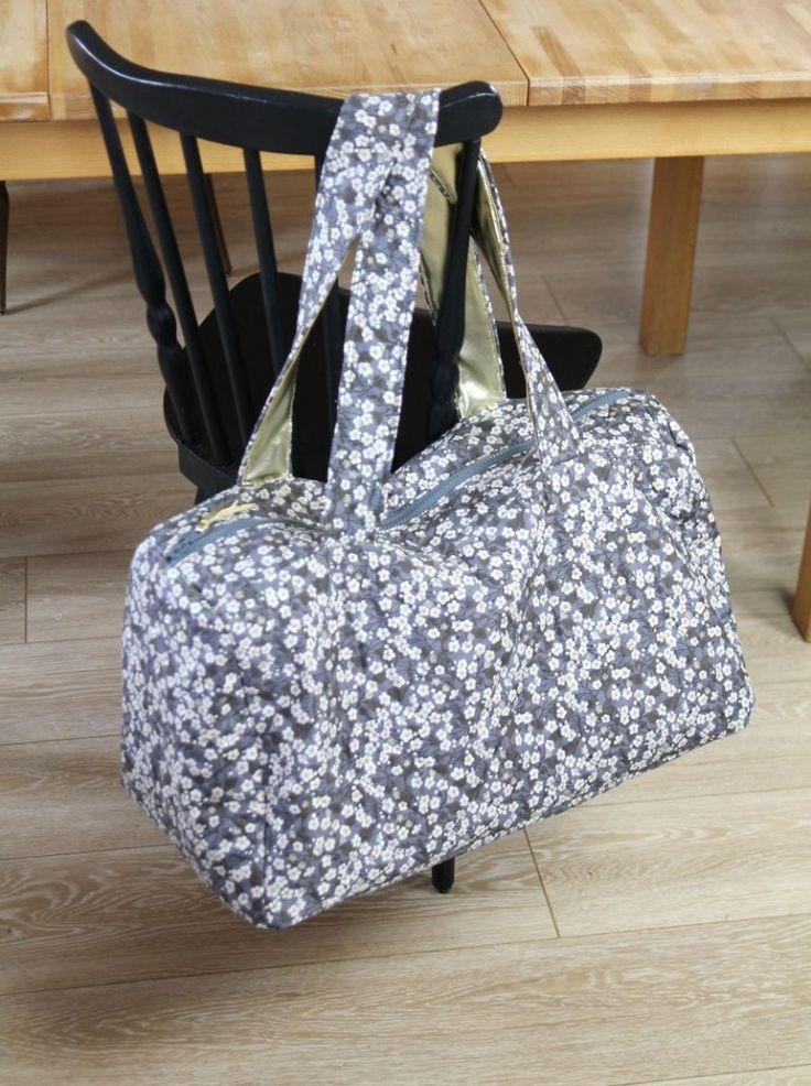 Extrem gabarit patron gratuit sac de voyage | couture | Pinterest | Sacs  XW65