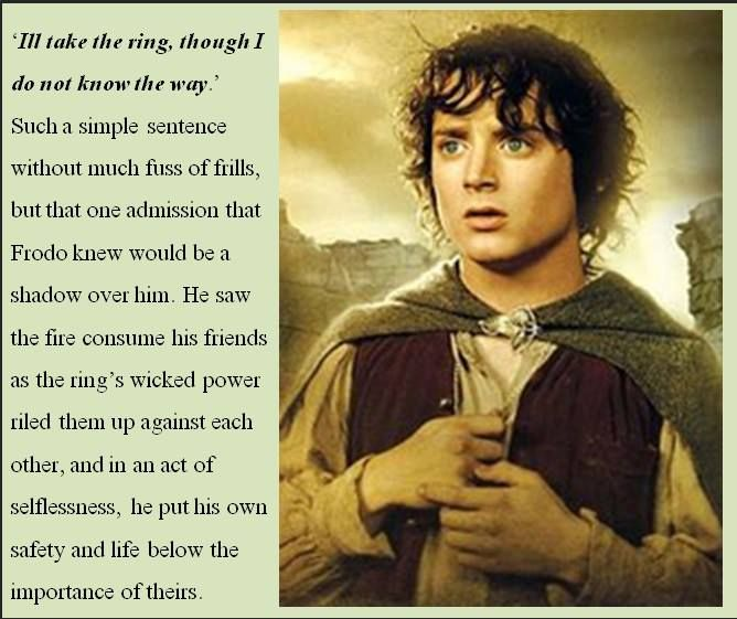 From Cirth Ithil Inklings Facebook page. Ah, how do I love Frodo, let me count the ways. This is a big part!