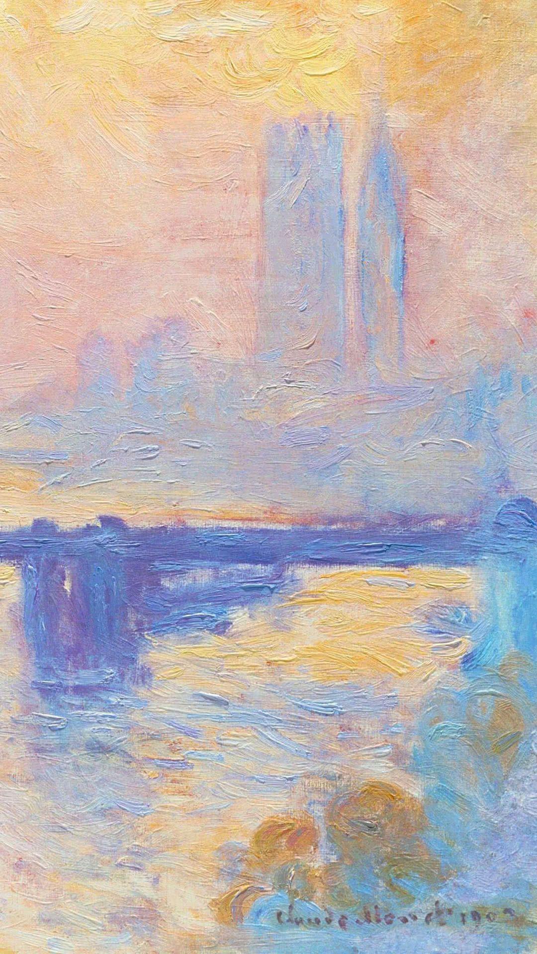 Claude Monet Charing Cross Bridge Claude Monet In 2019 モネ