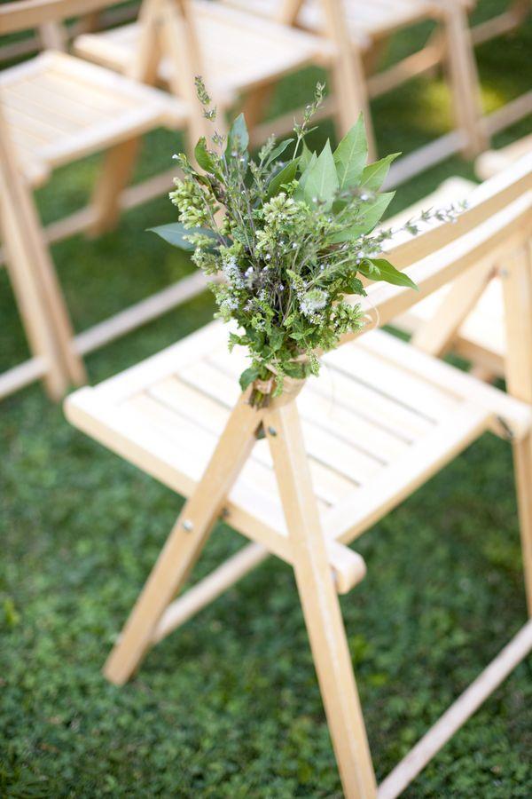 Wedding Ceremony Decor Rustic Wedding Aisle Flowers