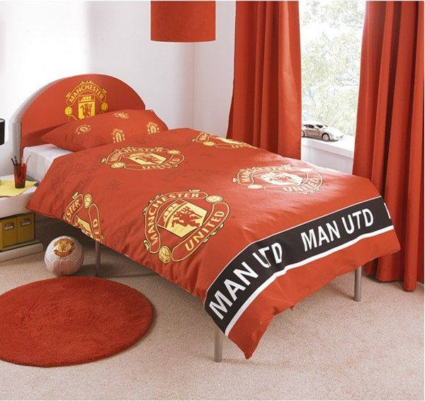 Manchester United FC Themed Bedroom