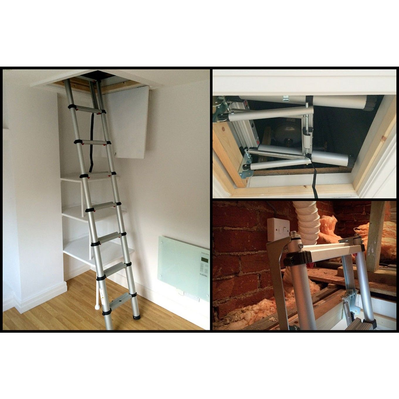 Youngman Telescopic Loft Ladder 2 9m Loft Ladder Loft Stairs Ladder