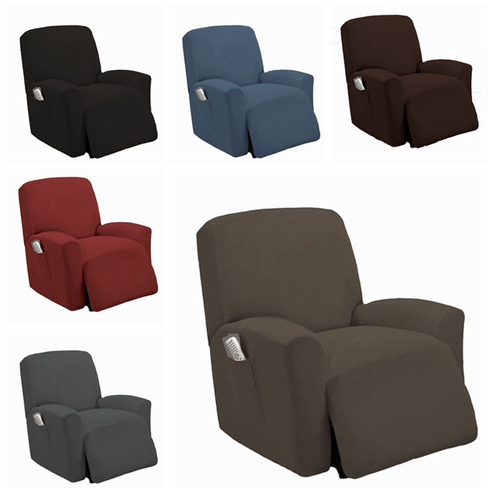 Stretch Recliner Slipcover Couch Cover Sofa Cover Furniture Chair Slipcovers Slipcovers For Chairs Couch Covers Slip Covers Couch