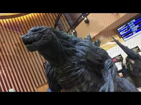 Photo of Human-Sized Godzilla 2017 Display (Monster Planet) 人間サイズ ゴジラ2017 怪獣惑星 展示