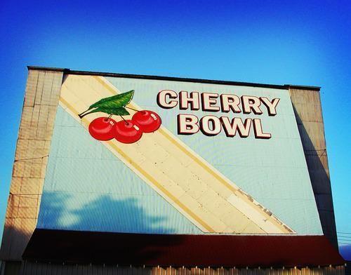 Cherry bowl drive in honor mi