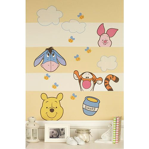 Disney Baby - Peeking Pooh - Wall Decals. These fun and playful wall ...