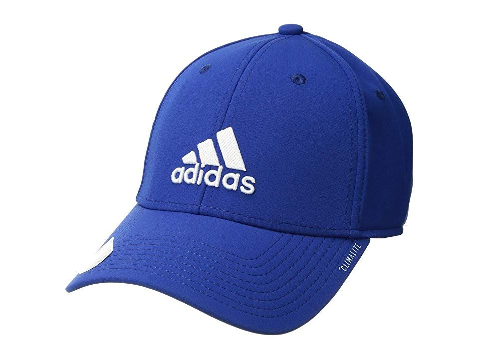f62fd1f0176 adidas Gameday Stretch Fit Cap (Collegiate Royal White) Caps. Get ...