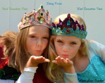 Disney Frozen Elsa Elsa tiara Elsa costume Elsa crown