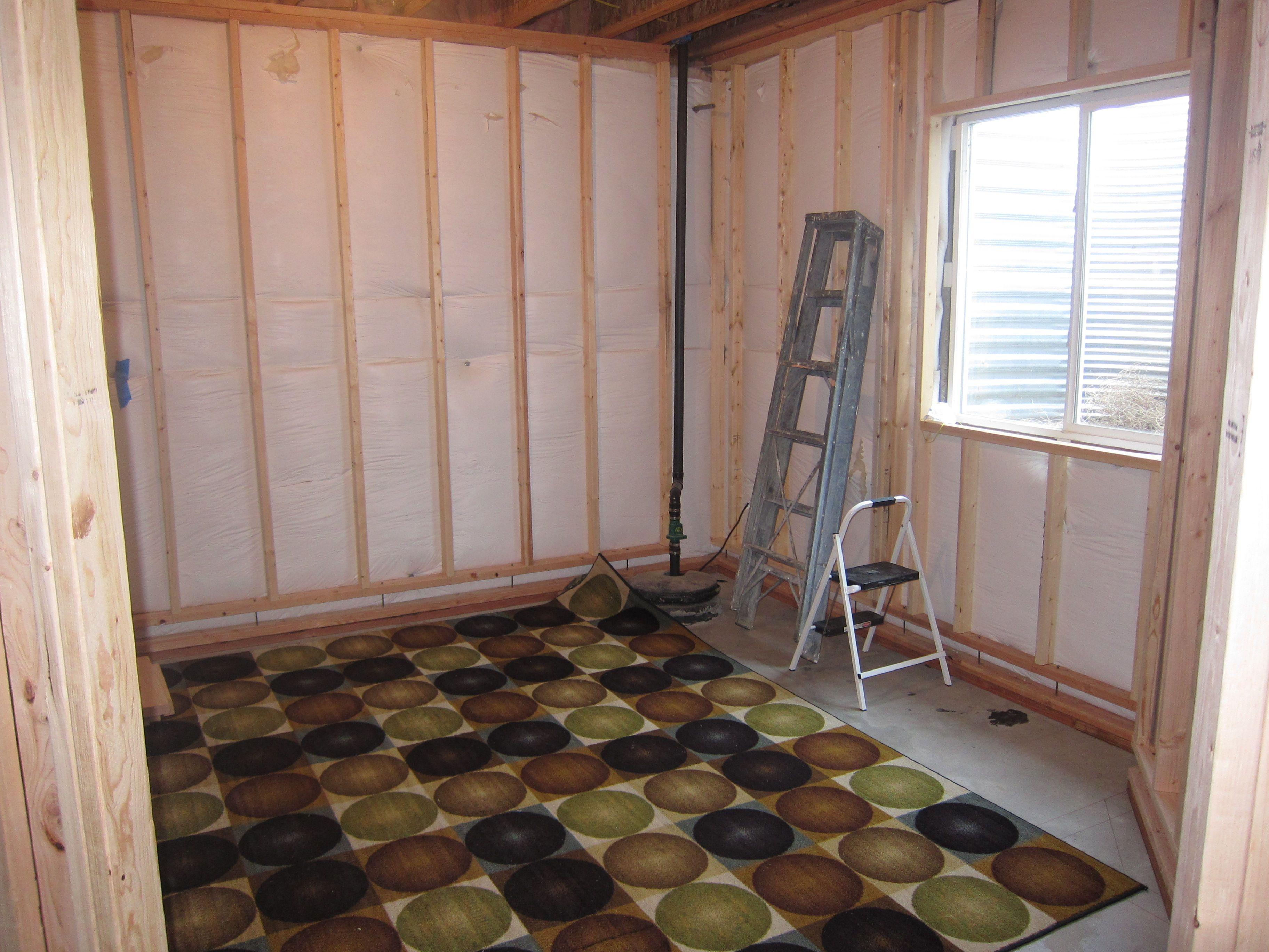 Bedroom Framing Stage Basement Bedrooms Finishing Basement Framing Basement Walls