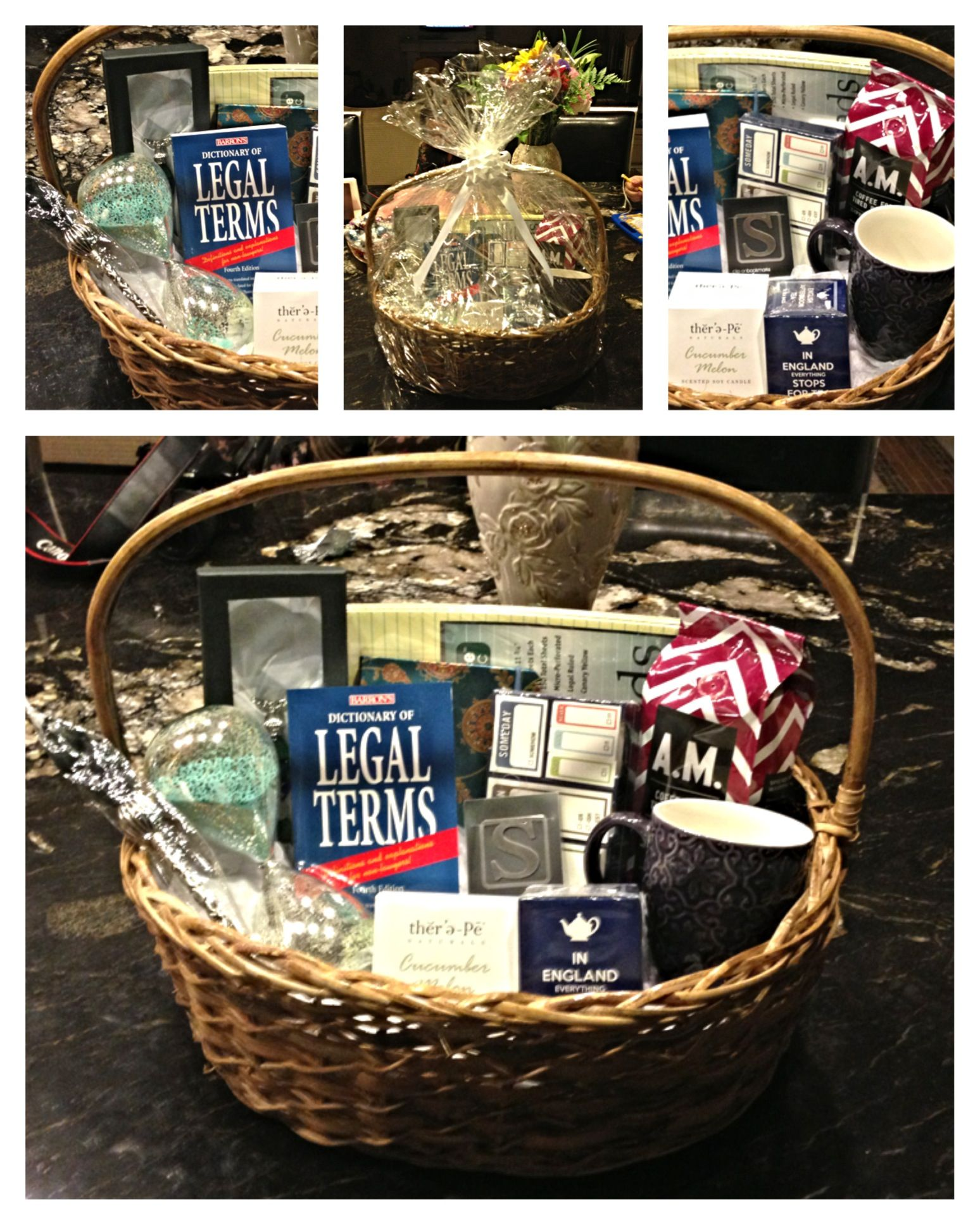 Graduation Gift Basket Starting Law School For The