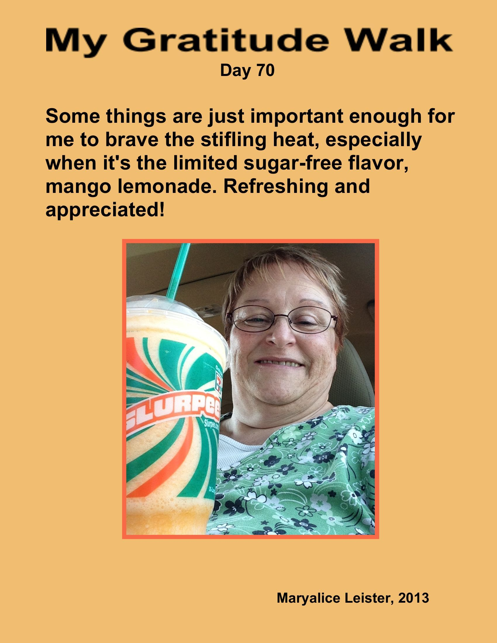 Simply delightful and refreshing! Thanks, 7-11!