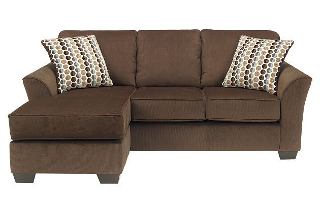 Brown chaise lounge with couch for your living room furniture