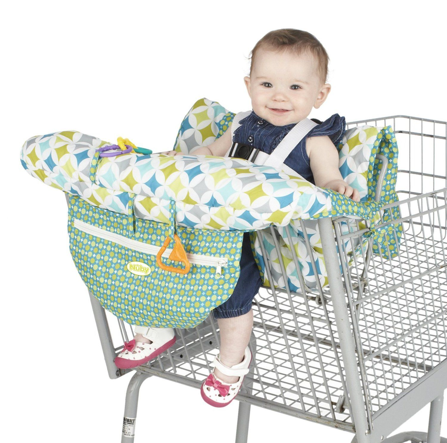 Nuby shopping cart and high chair cover universal size