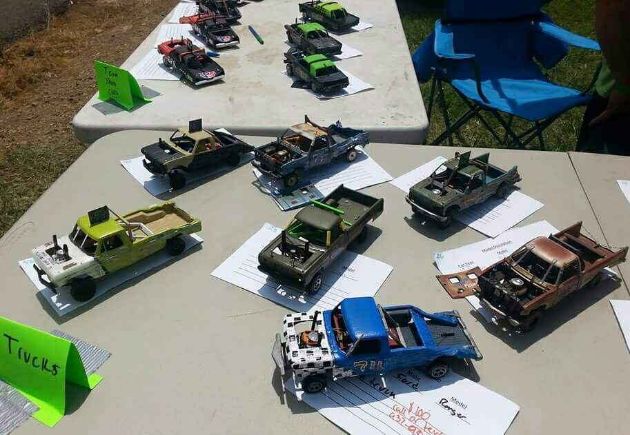 2016 Hillbillys Bash For Cash Model Show, truck class | Models ...