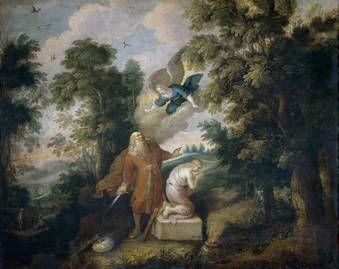 Sacrificio De Isaac Frans Francken Ii S Xvi Xvii Museo