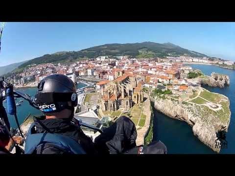 Paseo y Salto Trike en Castro Urdiales - YouTube