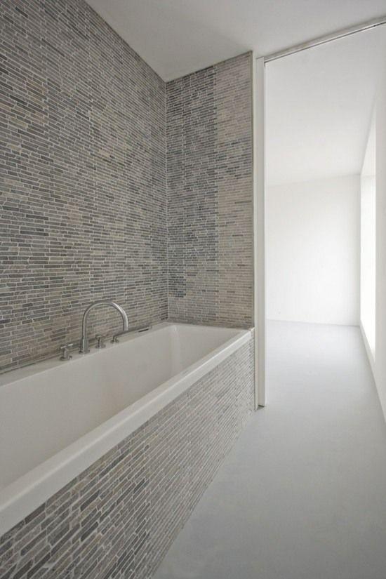 Wohnideen Traumbad Stein Mosaik skandinavisch   Interior ideas
