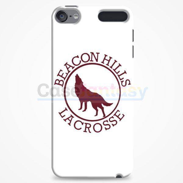 Beacon Hills Lacrosse White iPod Touch 6 Case | casefantasy