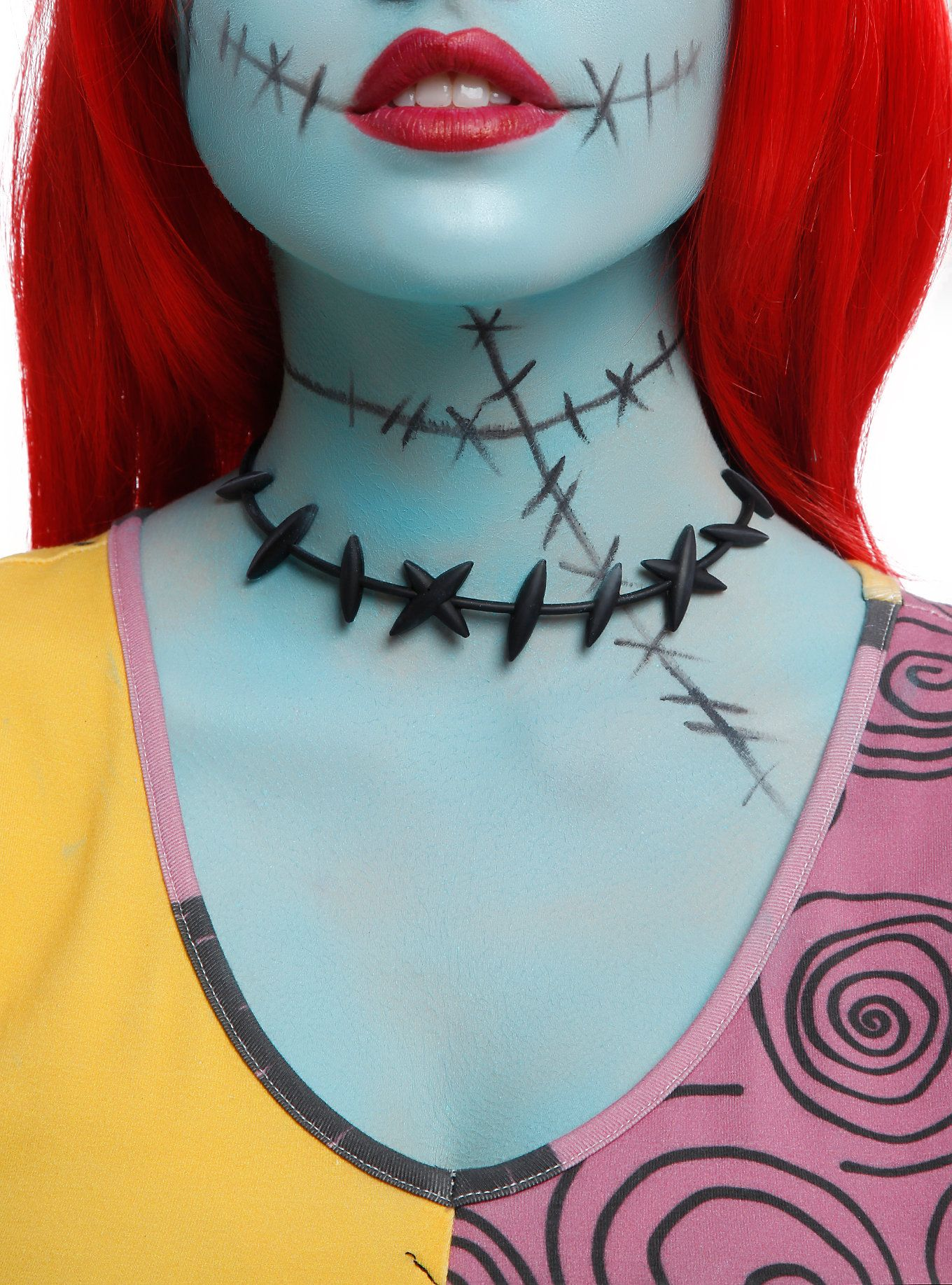 Rubber choker from <i>The Nightmare Before Christmas</i> with Sally ...