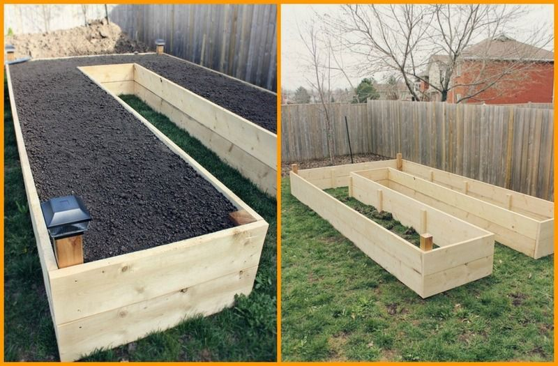 DIY Easy Access Raised Garden Bed    Love The Idea To Put Solar Lights On  The Posts