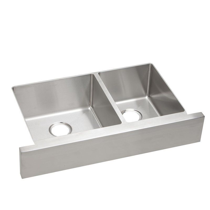 Elkay Ectruf32179r Double Bowl Kitchen Sink Sink Stainless