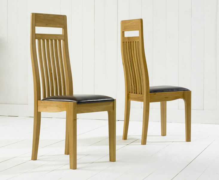 Awesome Buy The Monaco Solid Oak Dining Chairs At Oak Furniture Customarchery Wood Chair Design Ideas Customarcherynet
