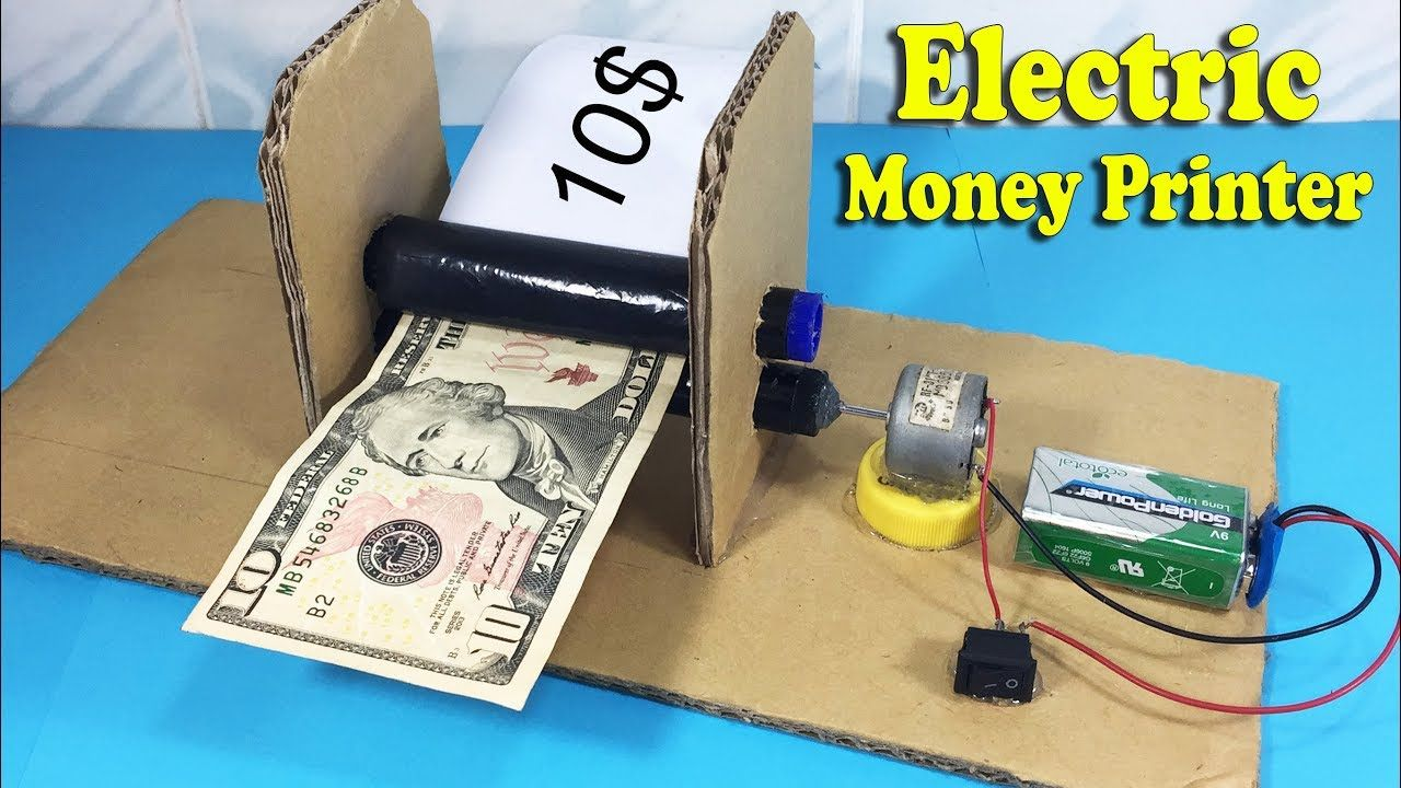 Money Machine Magic Trick for Kid Child Realistic and Easy to Do Dollar Bill NEW