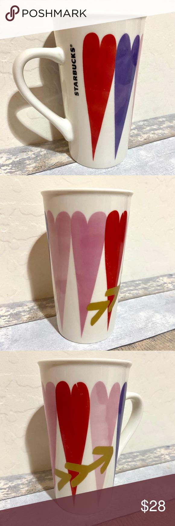 Starbucks 2017 Limited Edition Hearts Coffee Mug in 2020