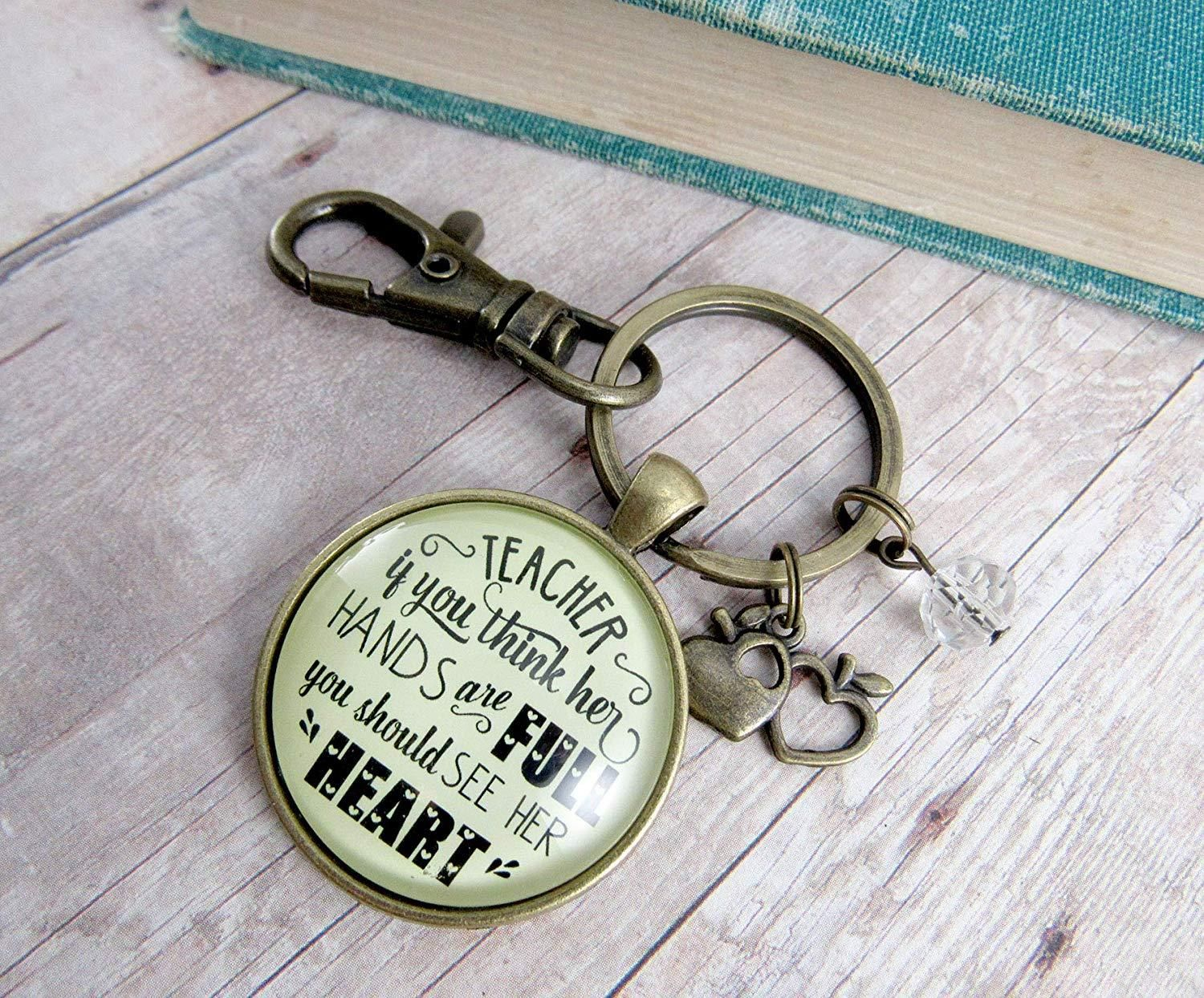 The Starfish Storyit made a difference to that one inspirational handstamped keychain