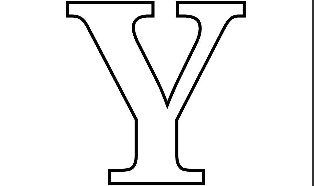 Letras Goticas Para Imprimir: Imprimir-Letra-Y-para-Recortar-Colorear.jpg 1,027×611