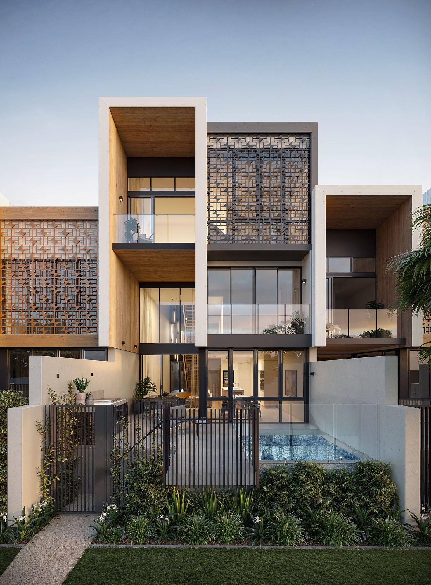 MultiResidential project in Hamilton Reach, QLD
