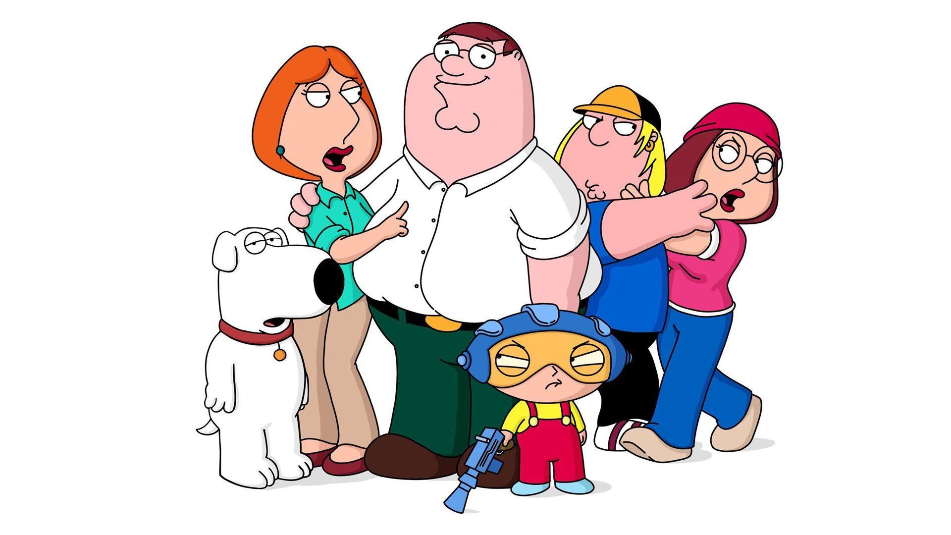 Griffin Family wallpaper 1920x1080 Family Guy Favorite