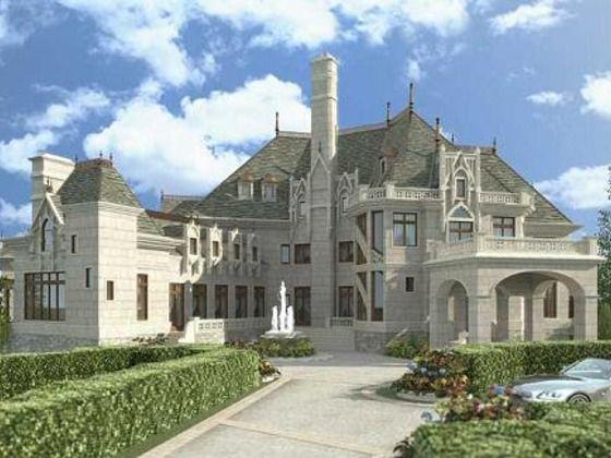 European Style House Plan 6 Beds 6 5 Baths 7236 Sq Ft Plan 119 169 Luxury House Plans European House Plans Huge Mansions