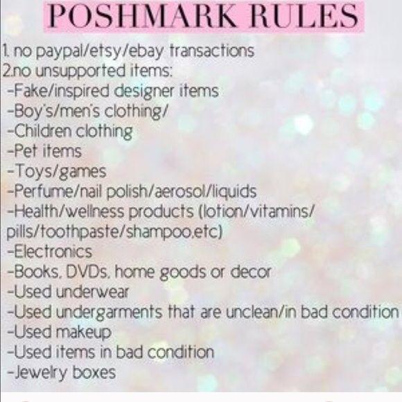 Posh rules‼️‼️ Please Follow Bags Hobos