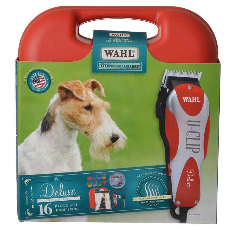 Wahl Delux U Clip Home Grooming Clipper Kit With Dvd Wahl Grooming Diy Dog Stuff