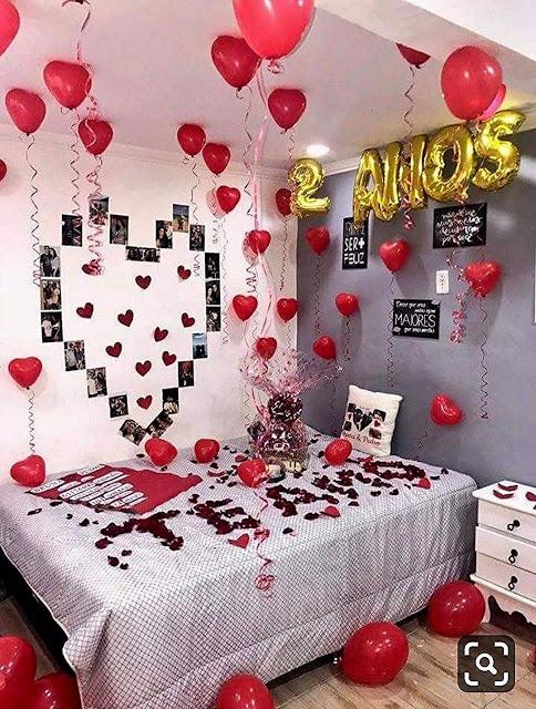 49+ Cuartos decorados para san valentin ideas