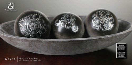 Pin By Tiffany Gainous On Knick Knacks Furniture Decor Etc Enchanting Decorative Orbs For Bowls