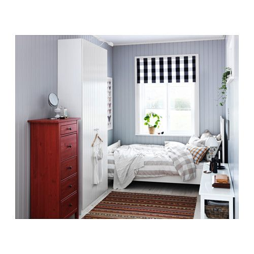 Ikea Hemnes Cassettiera Rossa.Hemnes Cassettiera Con 5 Cassetti Rosso Ikea Reading Corner