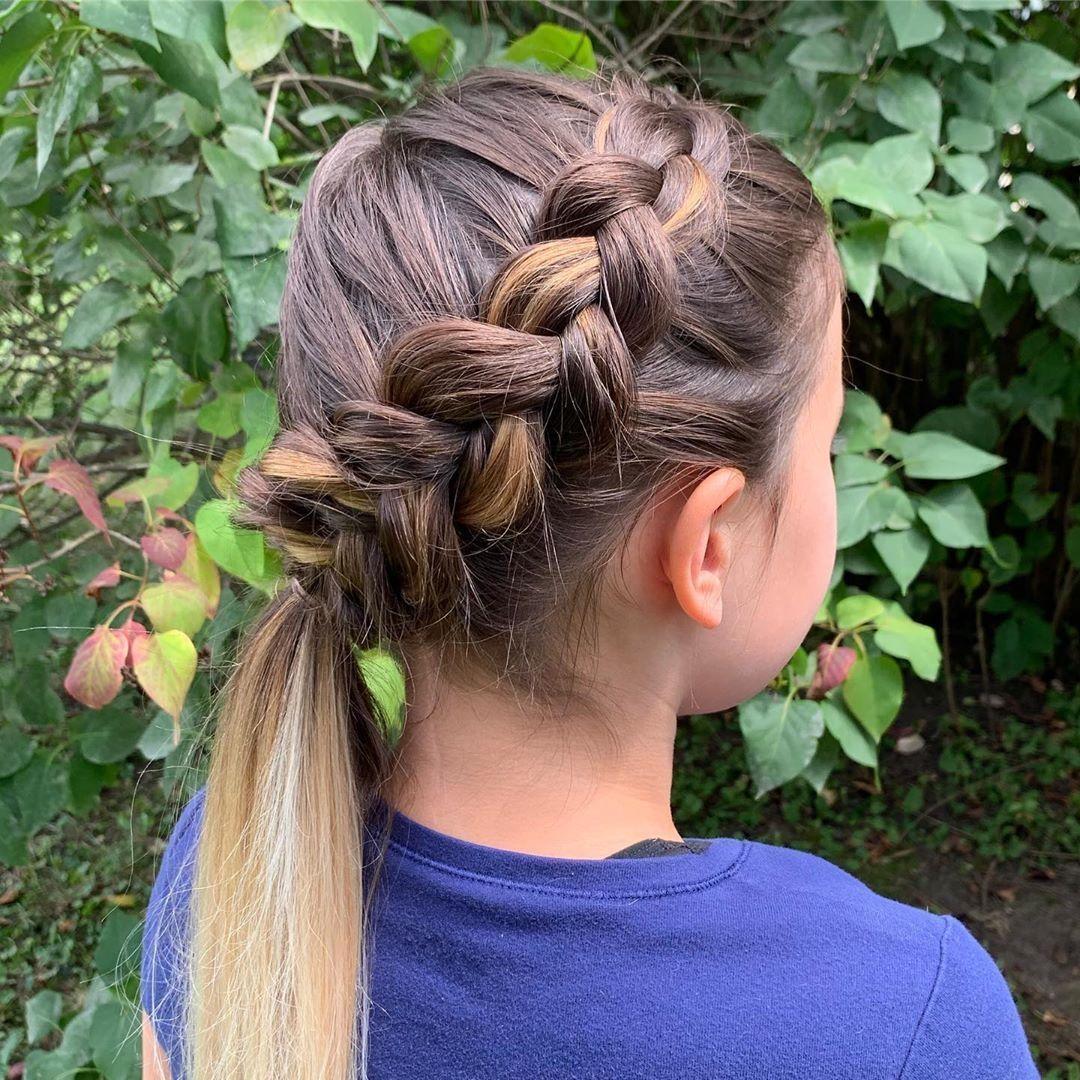 Modne Fryzury Dla Dziewczynek Hair Beauty Hair Styles