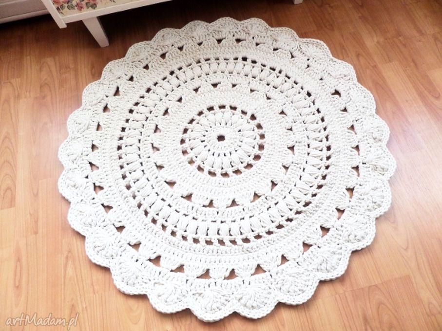 Dywan wykonany ręcznie szydełku 100 dywany wools dywanik dywaniki