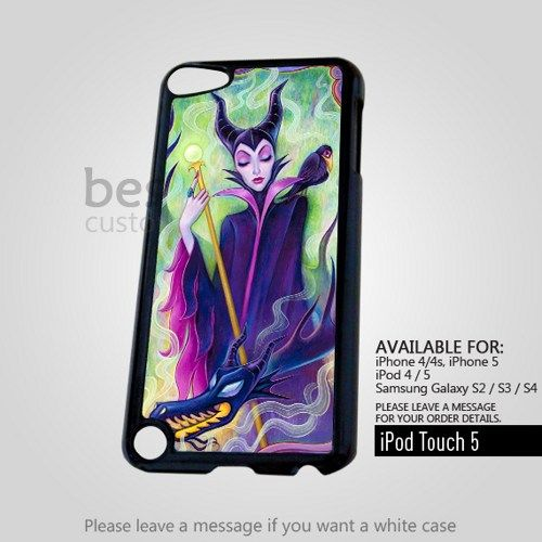 AJ 4301 Disney Maleficent Sleeping for iPod 5 Case