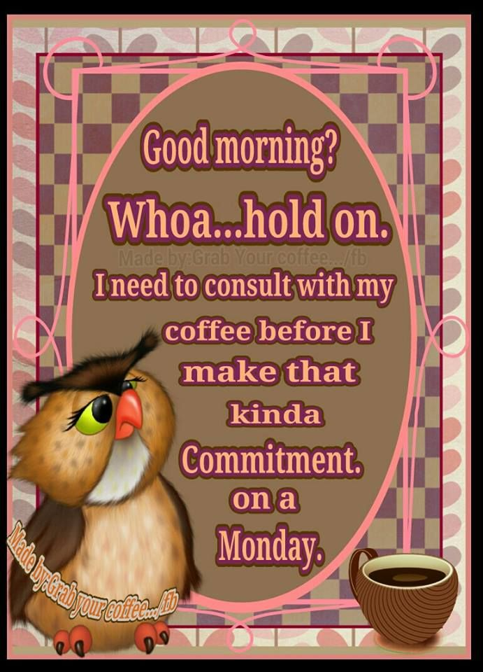 Sounds Perfect For Monday Morning With Images Monday Morning