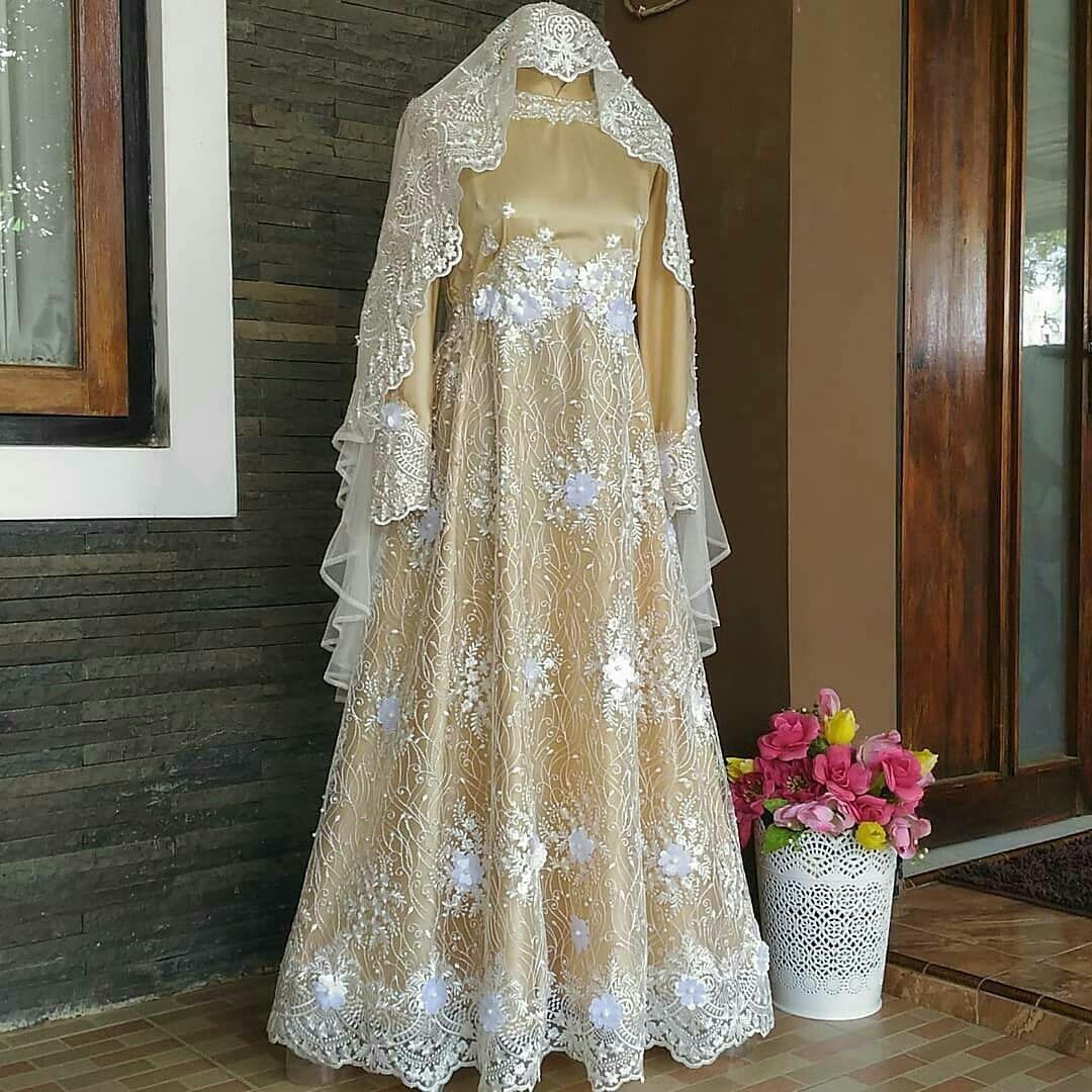 Walimah dress  Dresses, Wedding dresses, Modest wedding dresses