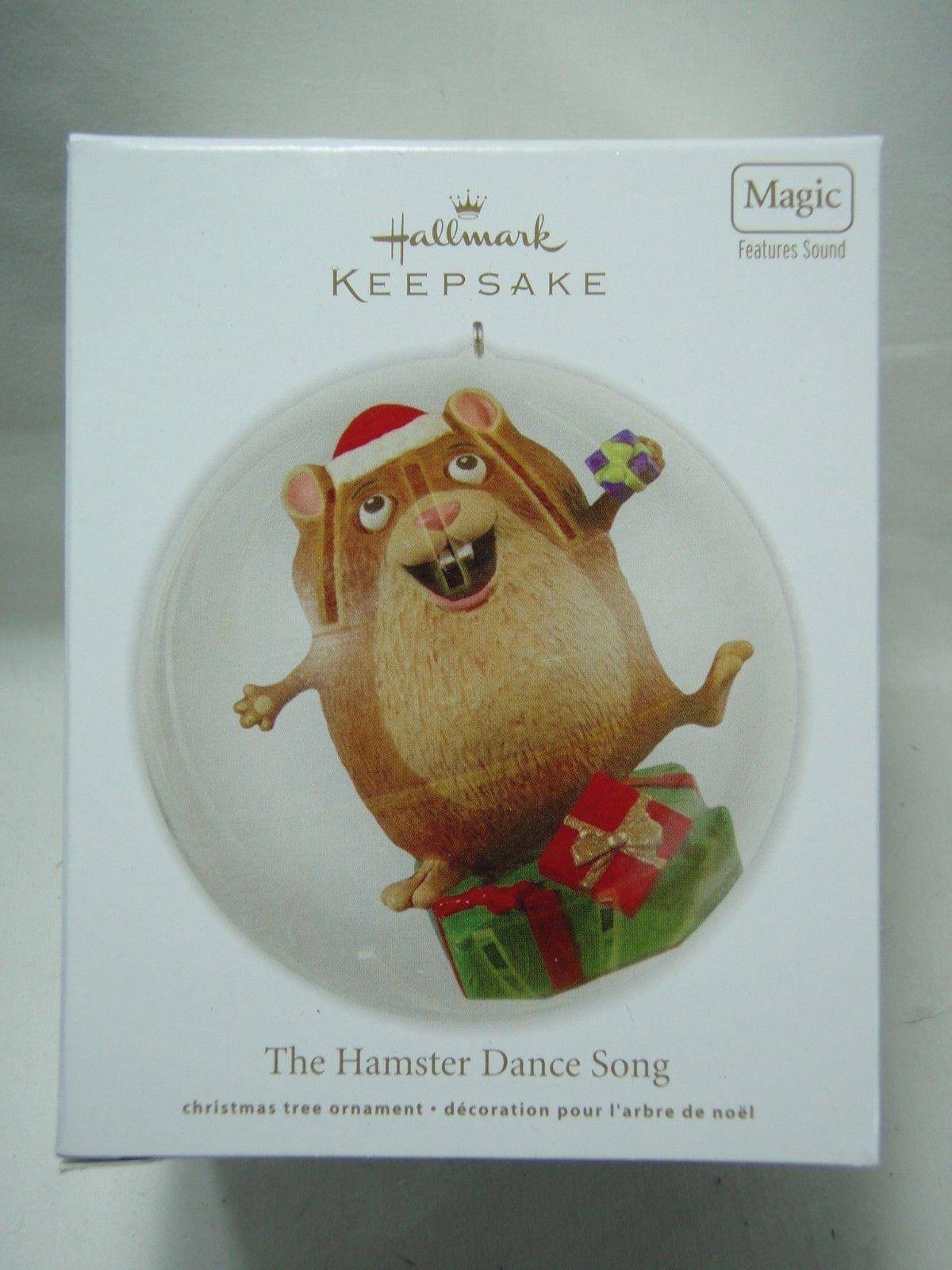 12.95 2012 Hallmark Keepsake Ornament The Hamster Dance